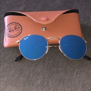 Ray ban- reflective blue lens - BRAND NEW